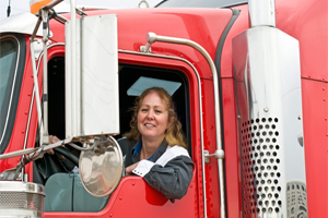 Female truck drivers are key to helping with driver shortage